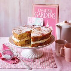 A triple-tested Victoria sponge cake recipe with a twist. Try a marbled effect using dollops of raspberry jam.