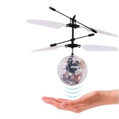 Rc Helicopters Candid Mini Drone Hand Induction Flying Ball Facial Expression Toy Funny Rc Helicopter Aircraft For Kid Toys Present Gift Flying Toys Orders Are Welcome.
