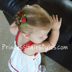 Little girl hairstyles - videos and how to