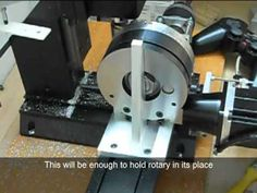 Sherline Rotary Table Right Angle Attachment (Making)