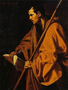 Diego Velazquez - Saint Thomas (oil on canvas, 1619-20?)