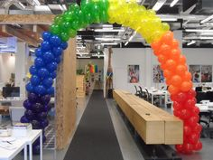 ie gallery page. Balloon Arch, Balloons, Balloon Release, Pride Week, Balloon Decorations, Gay Pride, Arches, Gallery, Design