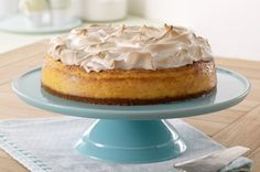Lemon Meringue Cheesecake recipe - modifying this a bit and adding a layer of lemon pie fill on top before adding the meringue