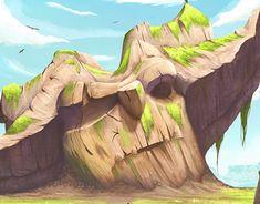 Animation Series, Transformation Body, Antelope Canyon, Troll, Art Projects, Art Drawings, Digital Art, Behance, Photoshop