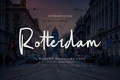 DLOLLEYS HELP: Rotterdam Free Font