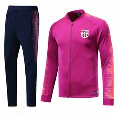 d31e0307075 Barcelona Training Kits (Pink Orange Jacket + Trousers) 2018-19 Model   Goal63679 Youth Tracksuit replica on goaljerseyshop.com