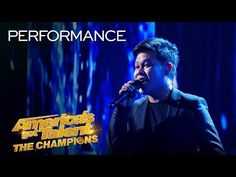 """(126) WOW! Marcelito Pomoy Sings """"The Prayer"""" With DUAL VOICES! - America's Got Talent: The Champions - YouTube"""