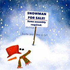 Snowman for sale ❄