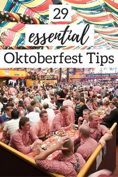 Heading to Oktoberfest or thinking of going in the future? Check out the Ultimate Oktoberfest Cheat Sheet that includes 29 essential Oktoberfest tips to maximize your Oktoberfest experience | germany travel tips, oktoberfest tips, germany beer festival, munich oktoberfest, things to do in munich, beer travel,  munich travel tips #oktoberfest #beer #travelblogger #festival