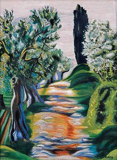 Moïse Kisling (Polish-French, 1891-1953) -Paysage de Provence, 1930
