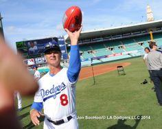Don Mattingly 3/19/14 Los Angeles Dodgers Workout at Sydney Crickett Ground by Jon SooHoo