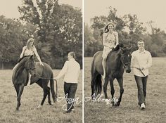 I want pictures just like this one day... of me on my horse and Ben leading him/her!!