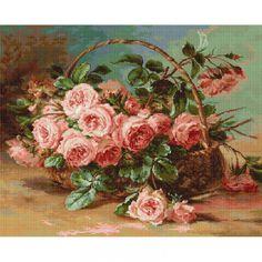 Gobelin Kit Roses DIY Gobelin Set Tapestry kit Hand embroidery