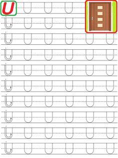 EDUCATIA CONTEAZA : LITERE PUNCTATE DE TIPAR Writing Practice Worksheets, Alphabet Tracing Worksheets, Alphabet Writing, Kindergarten Math Worksheets, Art Activities For Kids, Alphabet Activities, Math For Kids, Phonics, Kids Learning