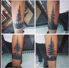 Tree Ink #BlackInk, #TreeTattoo