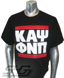 KAPPA RUN DMC T-SHIRT, BLACK  Item Id: PRE--KAYRUNDMC-BLK-ST    Price: $39.00