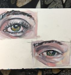 quick studies in oil any graphite