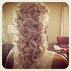 Wedding hair!!