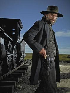 Anson Mount from Hell On Wheels. There's something about this man!