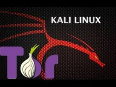 Cyber Secrets - Using Kali Linux to install Tor, Filezilla, and run nmap...