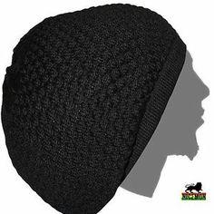 Rasta Dread Dreadlocks Tams Hat Beret Hippie Cap Reggae Marley Jamaica L/XL Fit Rasta Dreads, Beret, Pattern Fashion, Winter Hats, Beanie, Unisex, Feelings, Jamaica, How To Wear