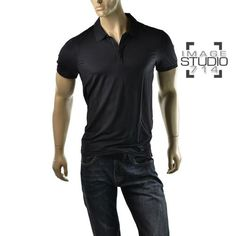 #Armani Exchange A|X Slinky Stretch Polo T Shirt  get dressed @ http://imagestudio714.com  #imagestudio714