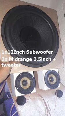 Class-D Power Amplifier + Subwoofer) Car Amplifier, Speakers, Products, Music Speakers, Gadget