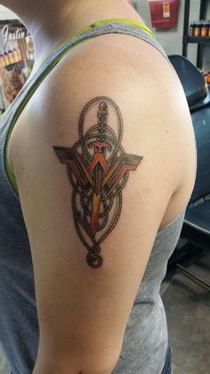 Wonder Woman tattoo