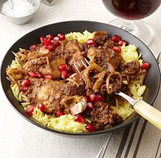 Persian Chicken with Pomegranate and Walnuts - Fine Cooking Recipes, Techniques and Tips