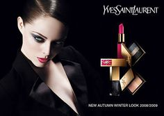 Beauty runs rampant when Canadian stunner Coco Rocha is in. ''La diva'' looks like a powerful féline for YSL New Autumn Winter Look 2008 / 2009 Makeup Advertisement, Makeup Ads, Makeup Poster, Armani Cosmetics, Makeup Cosmetics, Makeup Eyeshadow Palette, Highlighter Makeup, Ysl Beauty, Beauty Shots
