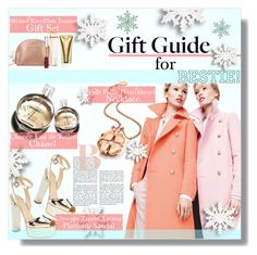 """""""Gift Guide: Your Bestie"""" by mariamharrasova ❤ liked on Polyvore featuring J.Crew, Folli Follie, Chanel, Michael Kors, Giuseppe Zanotti and giftguide"""