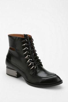 4d1343ec0d Urban Outfitters Black Archer Laceup Boot Black Lace Up Boots