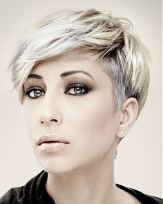30 Short Hair Color Trends for In 2019 short color trends for short hair are in today's topic. Everone agrees on that simple short hair does not look that trendy enough when you co…, Short Hair Colors Oval Face Hairstyles, Cool Short Hairstyles, Short Pixie Haircuts, Hairstyles Haircuts, Beautiful Hairstyles, Trendy Haircuts, Straight Haircuts, Cropped Hairstyles, Curly Haircuts