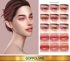 GPME-GOLD Glossy Collection by GOPPOLS Me for The Sims 4 The Sims 4 Pack, Sims 4 Cc Packs, Sims Four, Sims 4 Mm Cc, Sims 4 Body Mods, The Sims 4 Skin, Sims 4 Gameplay, Sims 4 Cc Makeup, Sims 4 Dresses