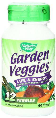 Nature's Way Garden Veggies Dietary Supplements, 60 Vcaps >>> Startling review available here  : Healthy Herbal Supplements
