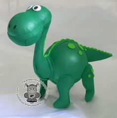Dinosaurio en goma eva