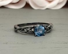 Check out our celtic engagement ring selection for the very best in unique or custom, handmade pieces from our engagement rings shops. Celtic Engagement Rings, Celtic Wedding Rings, Celtic Rings, Shop Engagement Rings, Jewelry Rings, Silver Rings, Handmade, Etsy, Hand Made