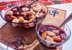 Szilveszteri bólé recept foto Cocktail Drinks, Cocktails, Fruit Salad, Acai Bowl, Recipies, Food And Drink, Breakfast, Smoothie, Christmas