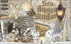 my Christmas banner Sea Dream studio