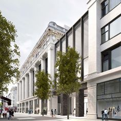 david chipperfield's renovation of selfridges flagship store gets approval