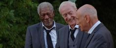 """Michael Caine, Morgan Freeman, and Alan Arkin play three Brooklyn old-timers who decide to rob a bank in """"Going in Style."""""""