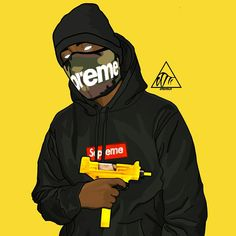 dope art vector art supreme