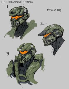 Halo 5: Guardians Concept Art by Kory Lynn Hubbell | Concept Art World