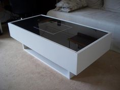 Ramvik TV and music console - I have this coffee table, though now it's being lame and only holds pictures