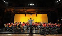 Los jóvenes de la Orquesta de Baires-Bancalari deleitaron en el Centro Nacional de la Música
