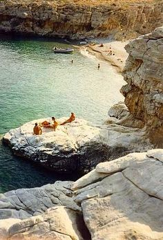 Marmara beach, Chania, Crete, Greece