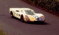 1968 Kyalami 9 Hours  Porsche 907 18  Hans-Dieter Dechent /Hans Hermann