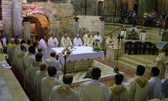 La Basilica dell'Annunciazione di Nazareth in video collegamento con Papa Francesco