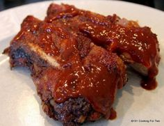 How to Grill Baby Back Ribs on a Gas Grill from 101 Cooking For Two