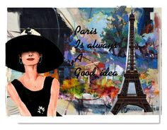 """""""Paris"""" by lvmud on Polyvore featuring art"""